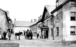 Dulverton, The Lion Hotel 1896