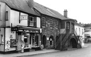 Dulverton, the Town Hall c1965