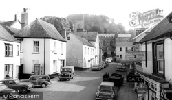 Dulverton, View From The Town Hall Steps c.1960