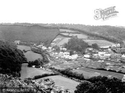 Dulverton, Weir Head And Northmoor Valley 1934