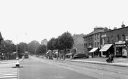 Dulwich, Lordship Lane c1955