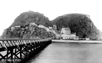 Dumbarton, Castle 1897