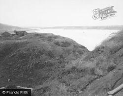 Dumbarton, The Beak From White Tower Crag 1951