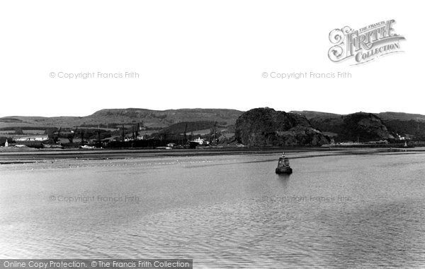 Photo of Dumbarton, The Clyde c.1955
