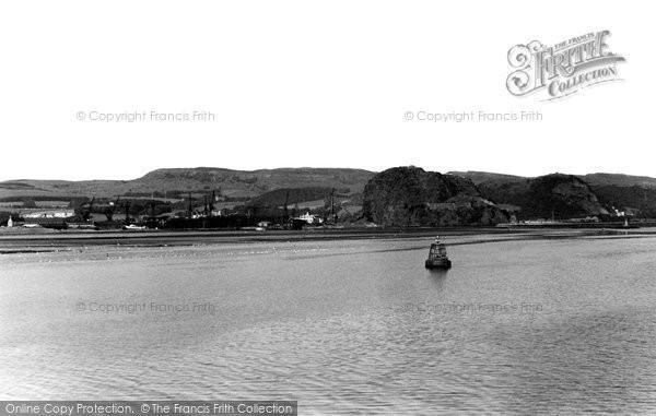 Dumbarton, the Clyde c1955