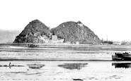 Dumbarton, the Rock c1955