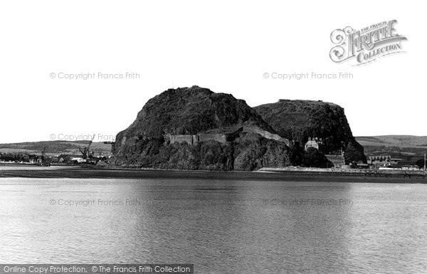 Photo of Dumbarton, The Rock c.1955