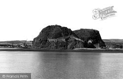 Dumbarton, The Rock c.1955