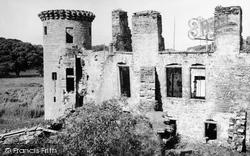 Dumfries, Caerlaverock Castle 1951