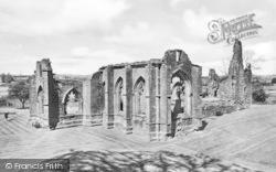 Dumfries, Lincluden Abbey c.1930