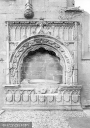 Dumfries, Lincluden Abbey, Princess Margaret's Tomb c.1930