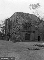Dumfries, Lincluden Convent And College 1958