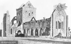 Dumfries, Sweetheart Abbey c.1930