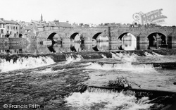 Dumfries, The Old Bridge 1951
