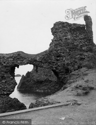 Dunbar, Castle 1954
