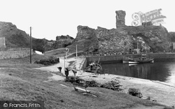 Dunbar, Castle And Harbour 1954