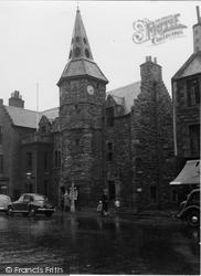 Dunbar, Town House 1954