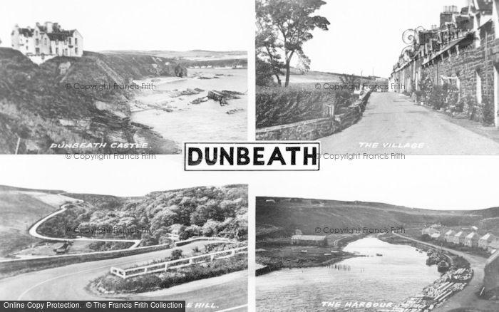 Photo of Dunbeath, Composite c.1960