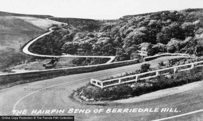 Photo of Dunbeath, The Hairpin Bend Of Berriedale Hill c.1960