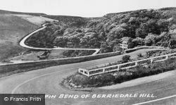 The Hairpin Bend Of Berriedale Hill c.1960, Dunbeath
