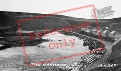 The Harbour c.1960, Dunbeath