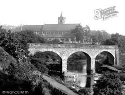 Dunblane, Bridge And Cathedral 1899