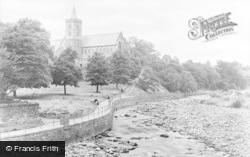 Dunblane, Cathedral c.1950