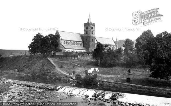 Photo of Dunblane, Cathedral From Allan Water 1899