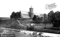 Dunblane, Cathedral From Allan Water 1899