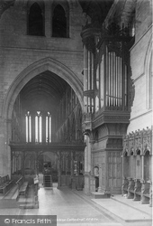 Dunblane, Cathedral Interior 1899