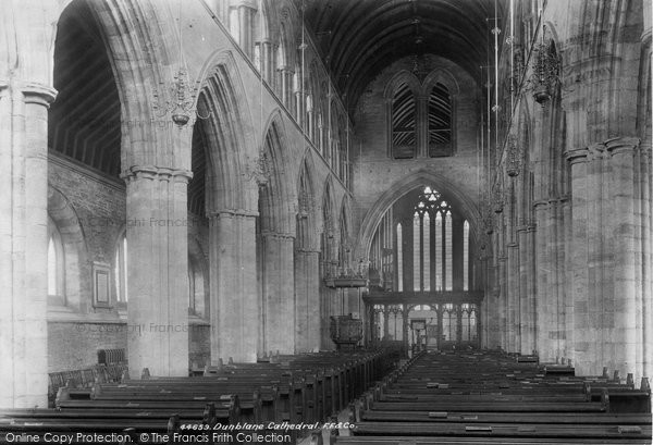 Photo of Dunblane, Cathedral Interior 1899