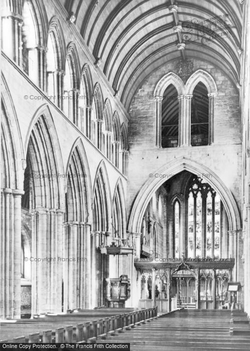 Photo of Dunblane, Cathedral, Nave And Choir c.1930
