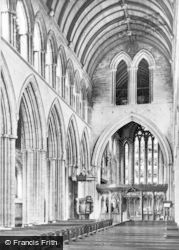 Dunblane, Cathedral, Nave And Choir c.1930