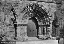 Dunblane, Cathedral, West Door 1899