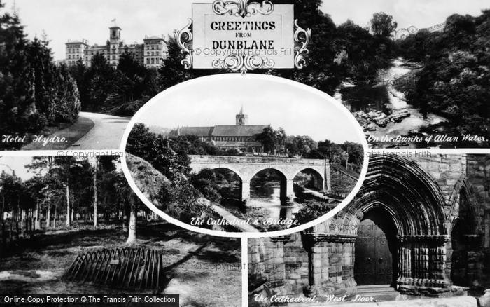 Photo of Dunblane, Composite c.1935