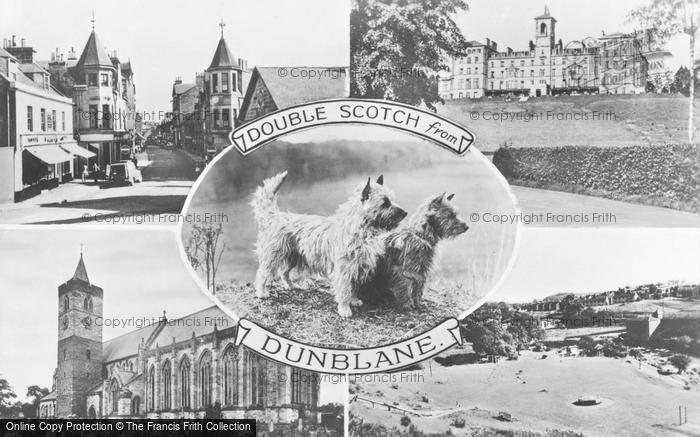Photo of Dunblane, Composite c.1950