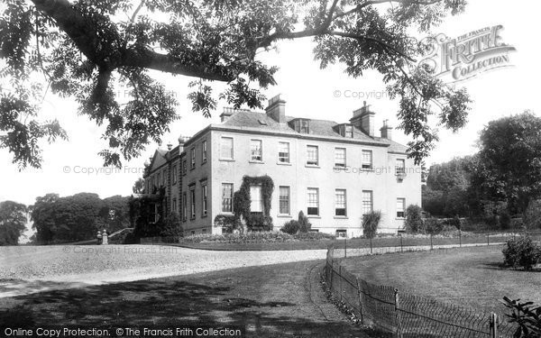 Photo of Dunblane, Kippenross House 1899