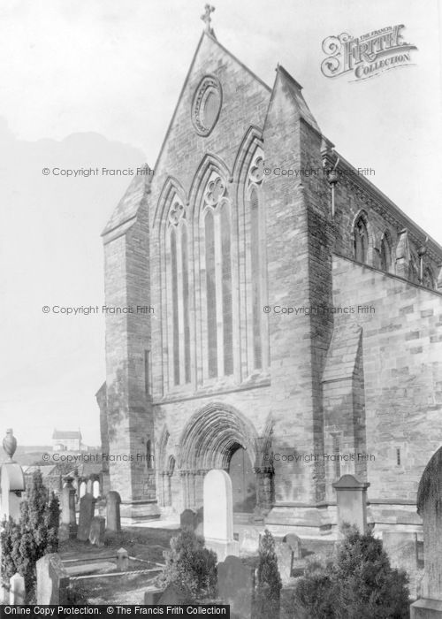 Photo of Dunblane, Ruskin Window, The Cathedral 1899