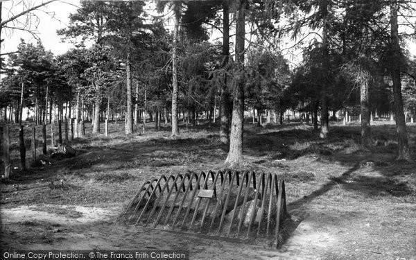 Photo of Dunblane, Sheriffmuir Gathering Stone 1899