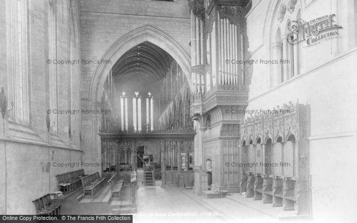 Photo of Dunblane, The Cathedral Interior 1899
