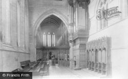 Dunblane, The Cathedral Interior 1899