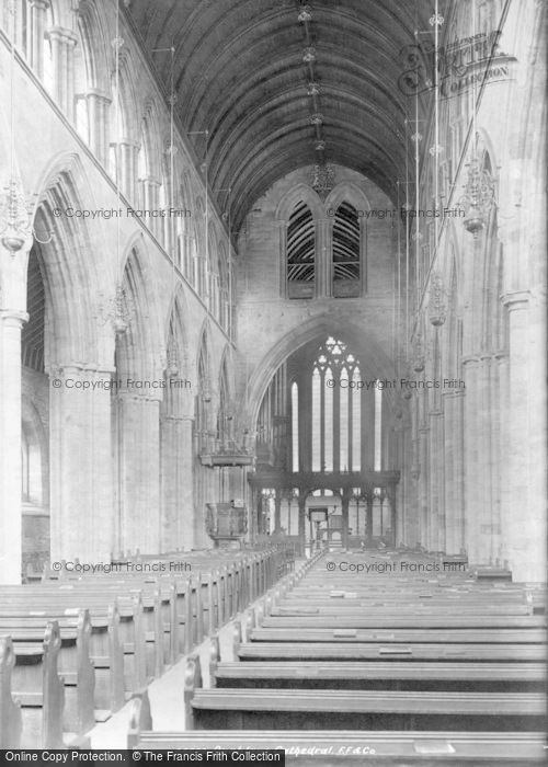 Photo of Dunblane, The Cathedral, Interior 1899