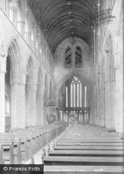 Dunblane, The Cathedral, Interior 1899