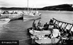Duncannon, Soldiers At The Harbour c.1955