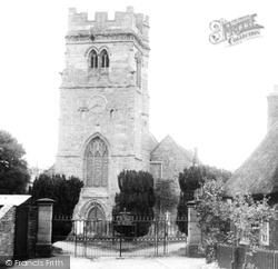 Dunchurch, St Peter's Church c.1955