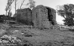 Powrie Castle, The Ruined South Wing 1957, Dundee