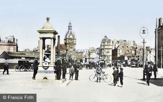 Dundee, the Alexandra Fountain 1907