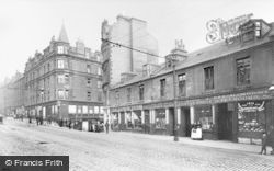 Victoria Road And Wellgate 1904, Dundee