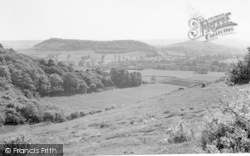 Dundon, From The Monument Road c.1955
