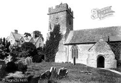 Dundon, St Andrew's Church And Vicarage 1904